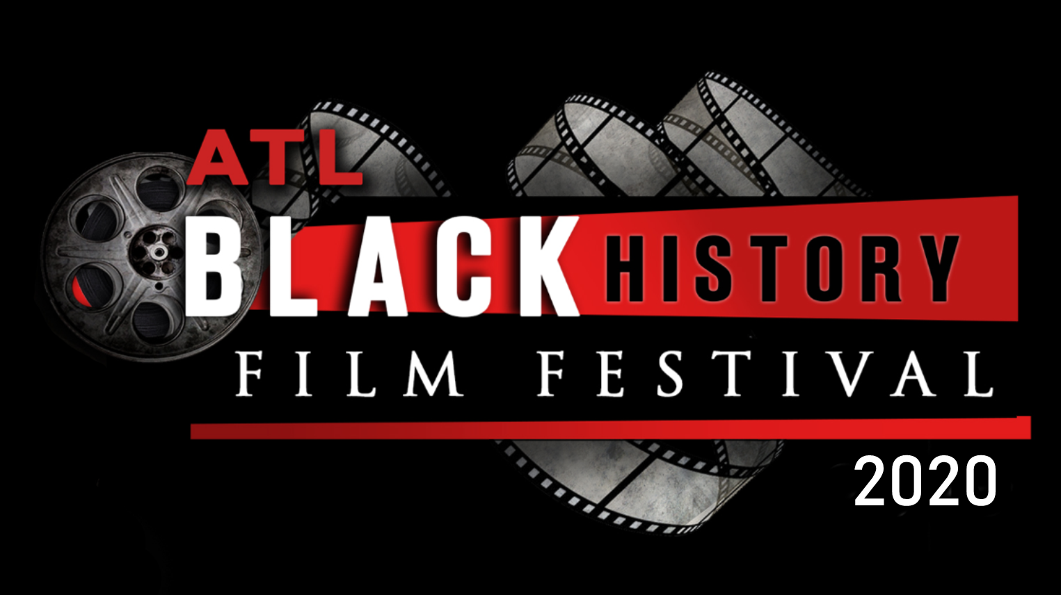 Black History Film Festival with film reel