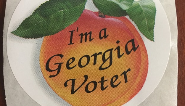 Photo of Georgia Voting Sticker