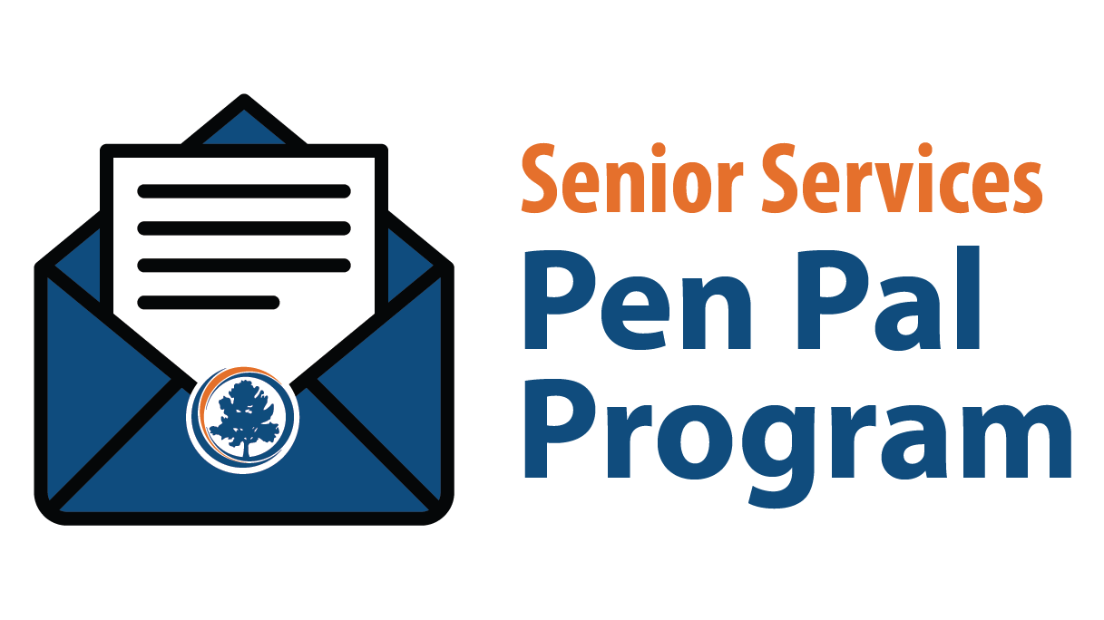 pen pal program with envelope
